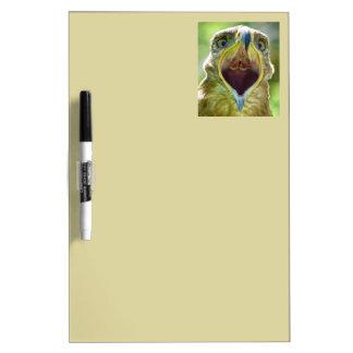 Steppe Eagle Head 001 2.1 Dry Erase Board