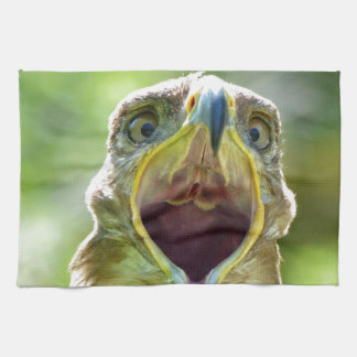 Steppe Eagle Head 001 2.1 Kitchen Towel