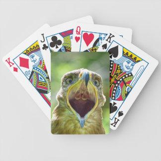 Steppe Eagle Head 001 2.1 Poker Deck