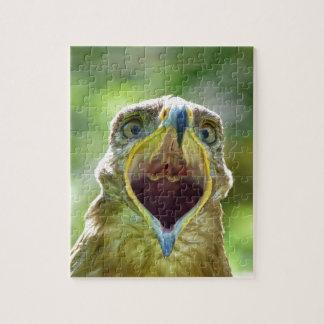 Steppe Eagle Head 001 2.1 Puzzle