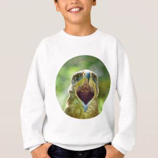 Steppe Eagle Head 004 01rd, screaming Sweatshirt