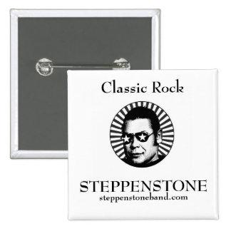 Steppenstone Star Square Pin