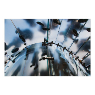 Steppers NYC Opaque Staircase Poster