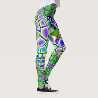 Steppin Stone Psychedelic 3D Abstract Leggings