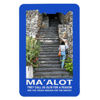 Steps Of Ma'alot Magnet