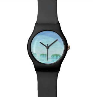 Steps on the ocean - 3D render Wrist Watch