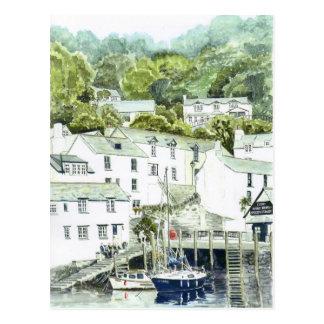 'Steps' Postcard