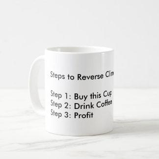 #StepsToReverseClimateChange Coffee Mug