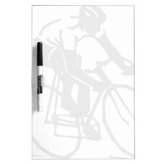 Steren-bike-rider-2400px Dry Erase White Board
