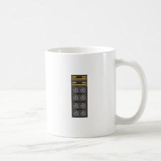 STEREO CLASSIC WHITE COFFEE MUG