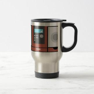Stereo Stainless Steel Travel Mug