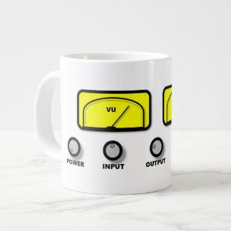 """""""Stereo"""" Mug design Jumbo Mug"""