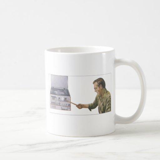 Stereo Smash Coffee Mug