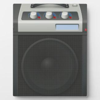 Stereo Speaker Plaque
