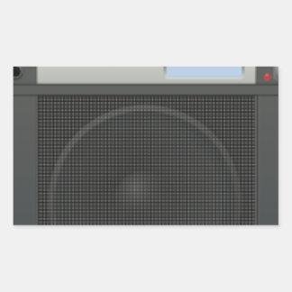 Stereo Speaker Sticker