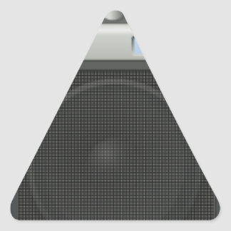 Stereo Speaker Triangle Sticker