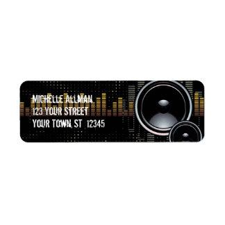 Stereo Speakers Avery Label Return Address Label
