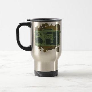 Stereo Style 15 Oz Stainless Steel Travel Mug