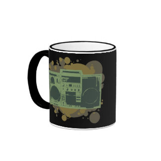 Stereo Style Ringer Coffee Mug