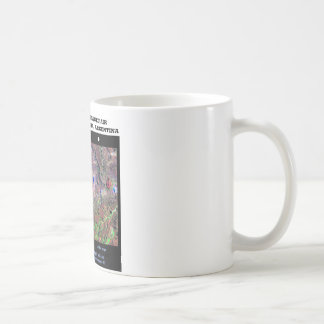Stereoscopic Image Pair Nrthn Patagonia Argentina Basic White Mug