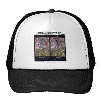 Stereoscopic Image Pair Nrthn Patagonia Argentina Hat