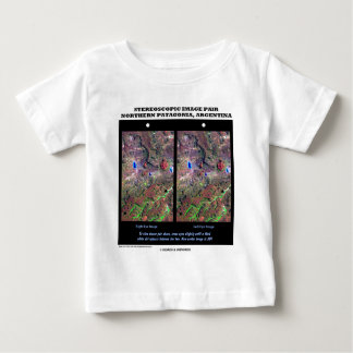 Stereoscopic Image Pair Nrthn Patagonia Argentina Shirts