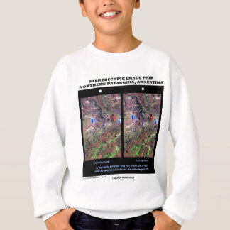 Stereoscopic Image Pair Nrthn Patagonia Argentina T-shirt