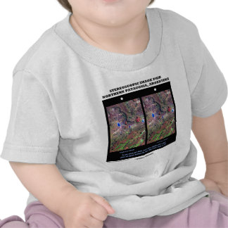 Stereoscopic Image Pair Nrthn Patagonia Argentina T Shirt
