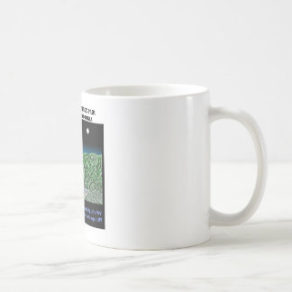 Stereoscopic Image Pair Pasadena, California Basic White Mug