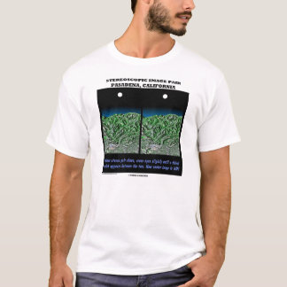 Stereoscopic Image Pair Pasadena, California T-Shirt