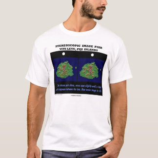 Stereoscopic Image Pair Viti Levu, Fiji Islands T-Shirt