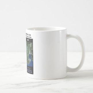 Stereoscopic Image Pair Wellington New Zealand Basic White Mug