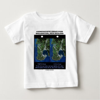 Stereoscopic Image Pair Wellington New Zealand T Shirts