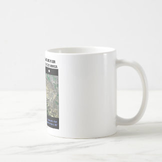 Stereoscopic Image Pair Wheeler Ridge California Basic White Mug