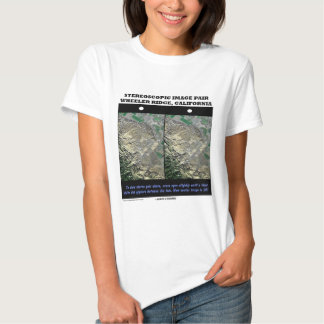 Stereoscopic Image Pair Wheeler Ridge California T-Shirt