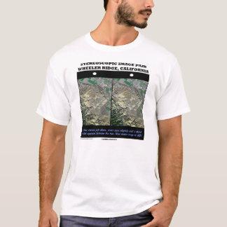 Stereoscopic Image Pair Wheeler Ridge California T-Shirt