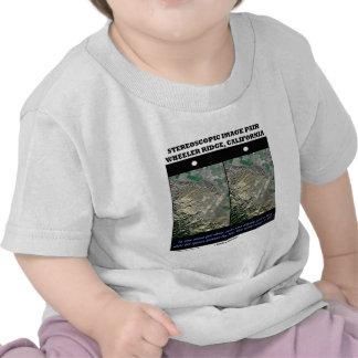 Stereoscopic Image Pair Wheeler Ridge California T Shirts