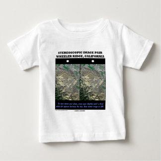 Stereoscopic Image Pair Wheeler Ridge California Tee Shirt