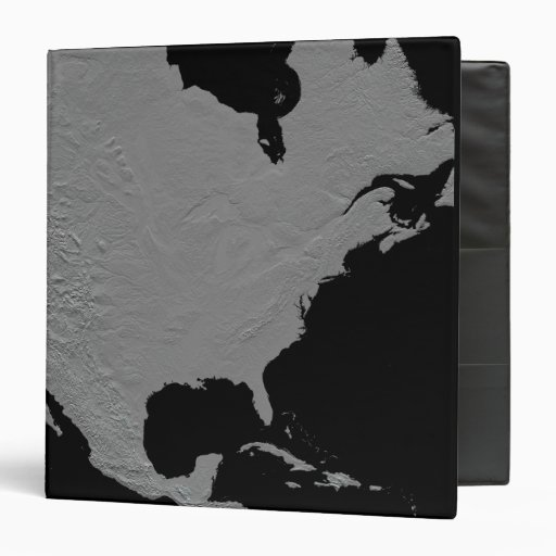 Stereoscopic view of North America 2 Vinyl Binders