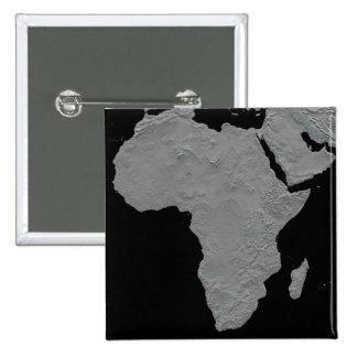 Stereoscopic view of North America 2 Inch Square Button