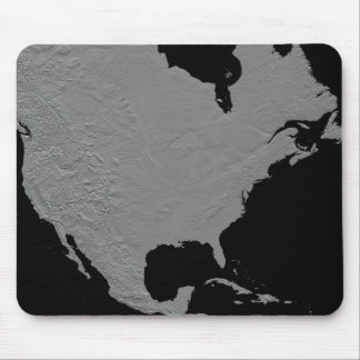 Stereoscopic view of North America 2 Mouse Pad