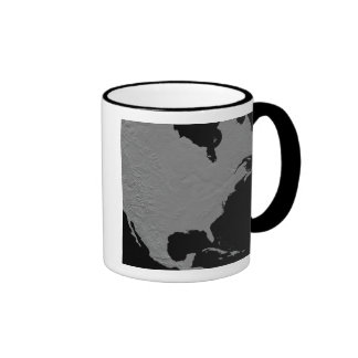 Stereoscopic view of North America 2 Coffee Mug