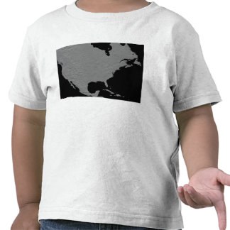 Stereoscopic view of North America 2 T-shirts