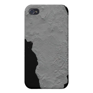 Stereoscopic view of North America iPhone 4/4S Covers
