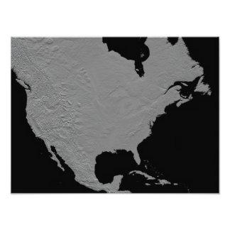 Stereoscopic view of North America Photo Art