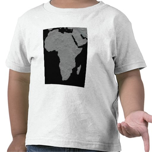 Stereoscopic view of North America T-shirts