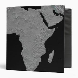 Stereoscopic view of North America Vinyl Binder