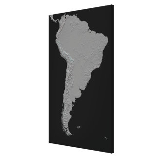 Stereoscopic view of South America Stretched Canvas Prints