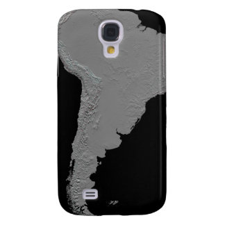 Stereoscopic view of South America Galaxy S4 Case