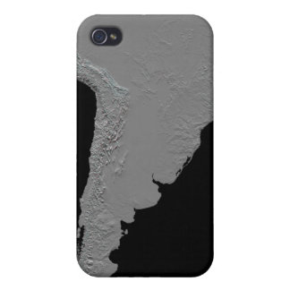 Stereoscopic view of South America iPhone 4 Case
